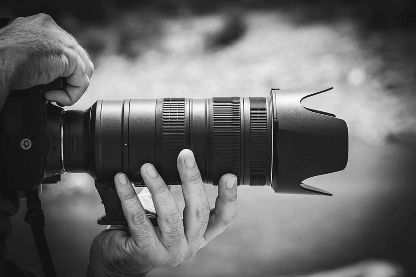 Caméra noir et blanc | Decor Mon Mur