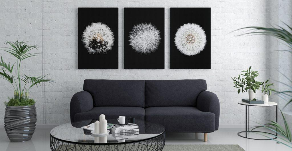 Comment choisir la bonne grandeur de toile pour mon mur?
