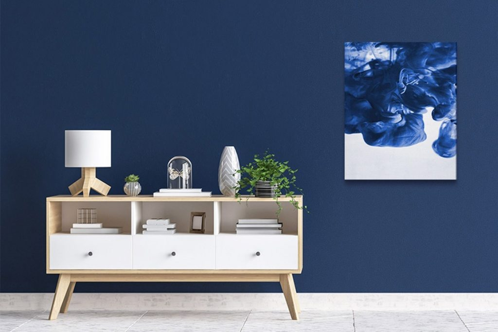 Toile bleu marin | Décor Mon Mur