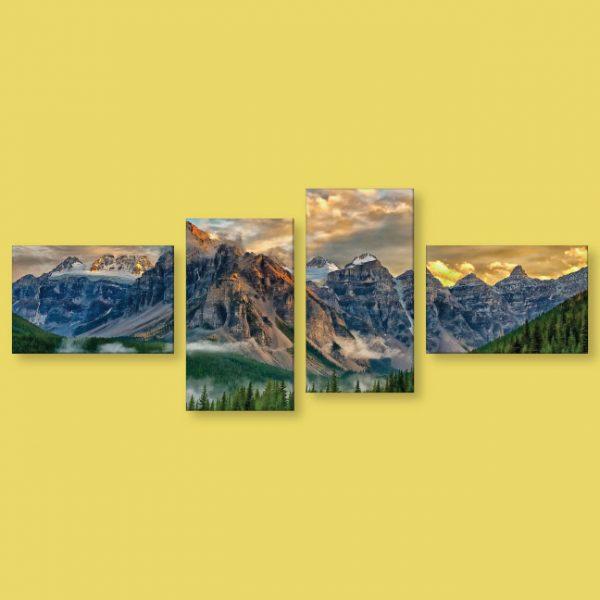 Toile multiple 96 x 37 | Décor Mon Mur