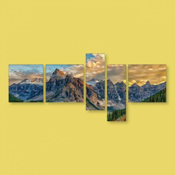 Toile multiple 96 x 43 | Décor Mon Mur