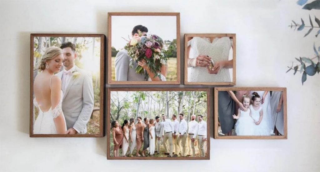 Toile mariage montage | Décor Mon Mur