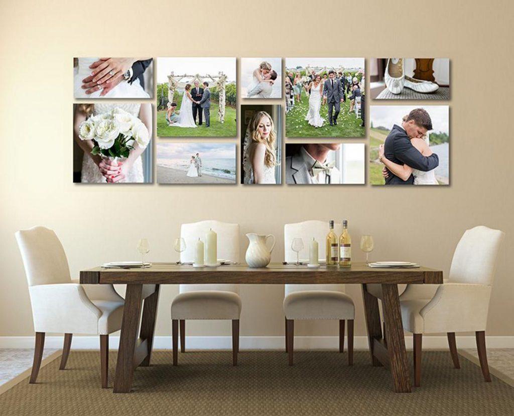 Photos mariage salle manger | Décor Mon Mur