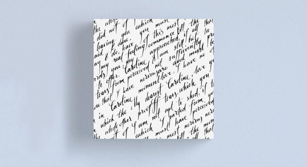 Lettre d'amour | Décor Mon Mur