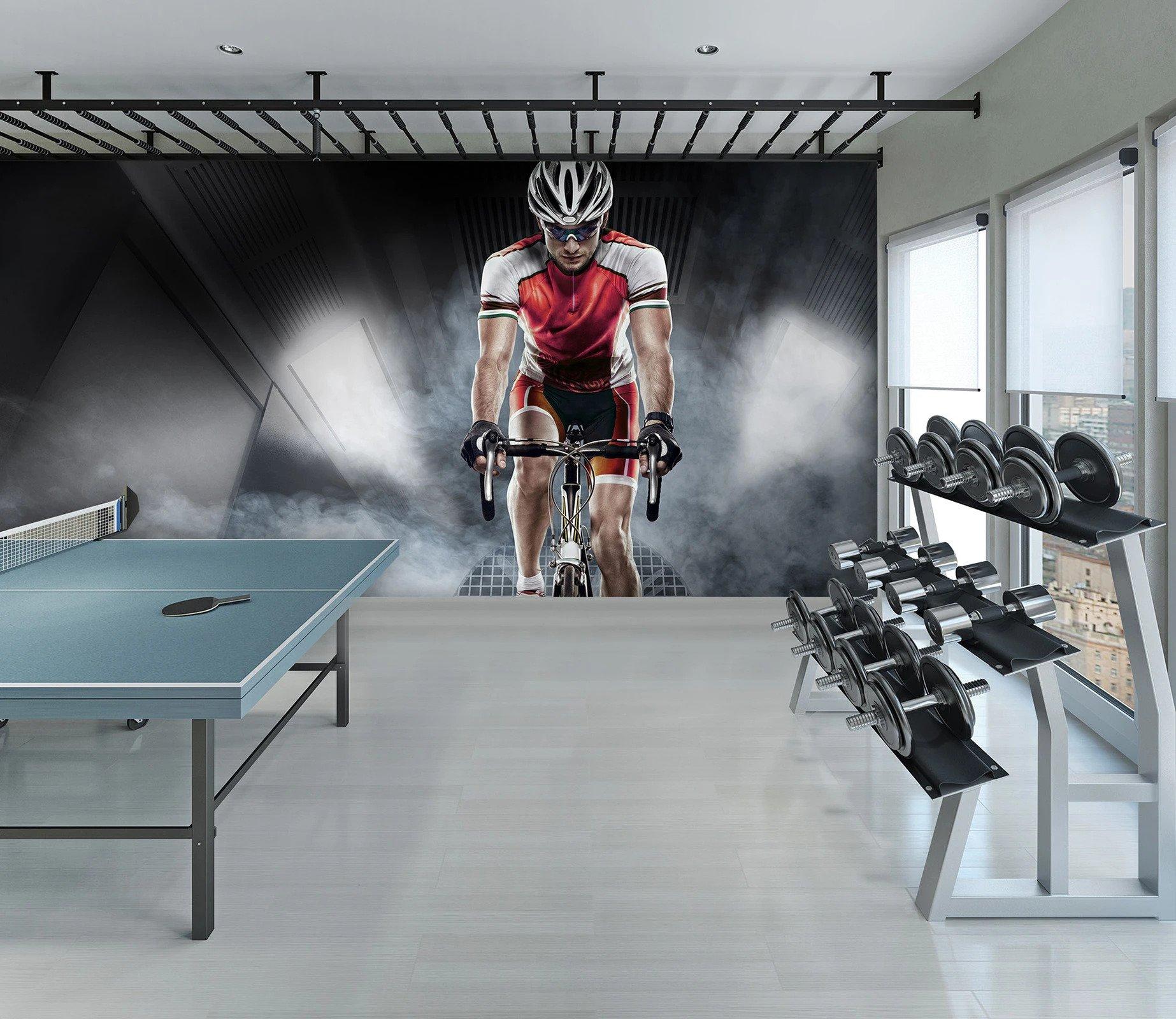 Mural athlètes Gym à la maison| Décor Mon Mur