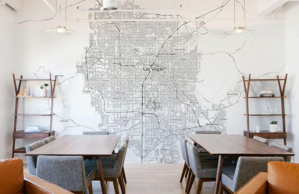 Mural Carte | Décor Mon Mur