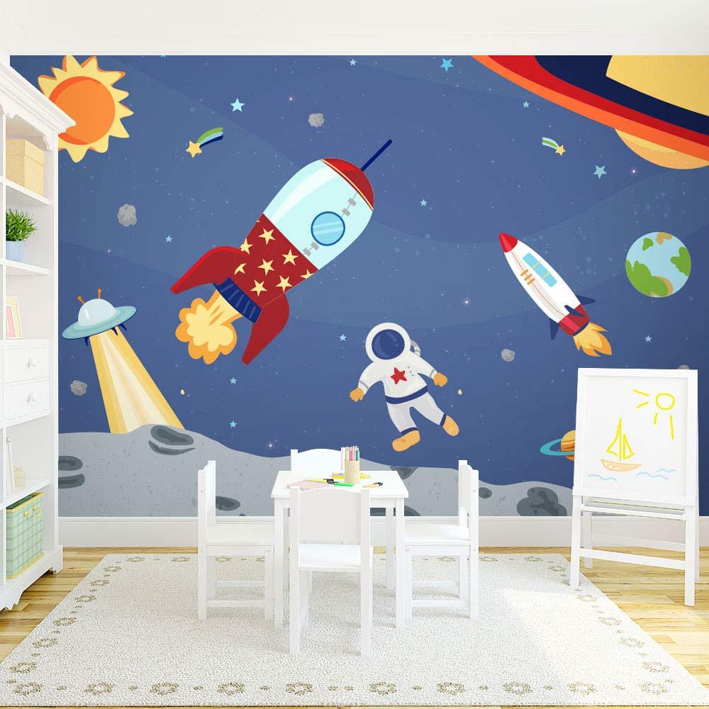 Suggestions pour décorer une chambre d'enfant mural espace | Décor Mon Mur