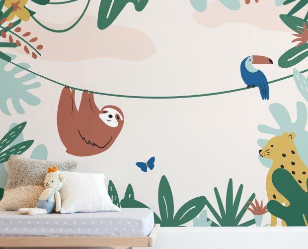 Suggestions pour décorer une chambre d'enfant animaux | Décor Mon Mur