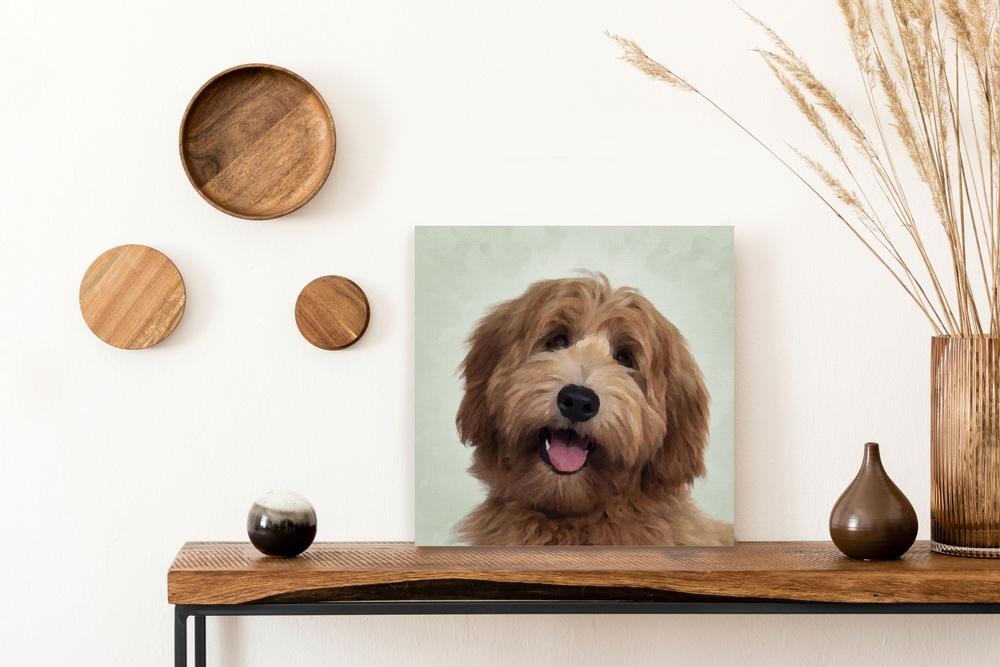 Imprimer le portrait de votre animal sur toile | Décor Mon Mur