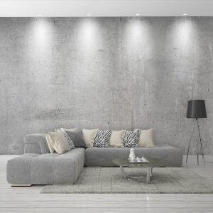 """Mural 144"""" x 96"""" Effet Béton   Décor Mon Mur"""
